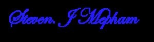 steven j Mepham logo