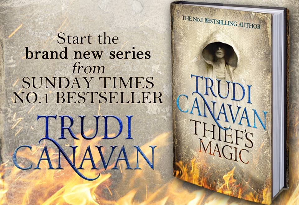Book Review: Thief's Magic, by Trudi Canavan